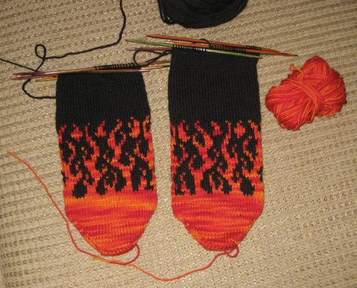 Flames.socks.progress.1