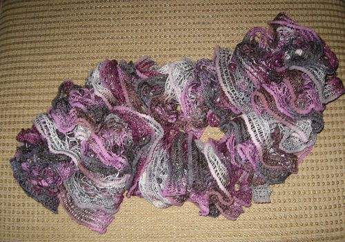 Purple.sparkle.scarf.completed