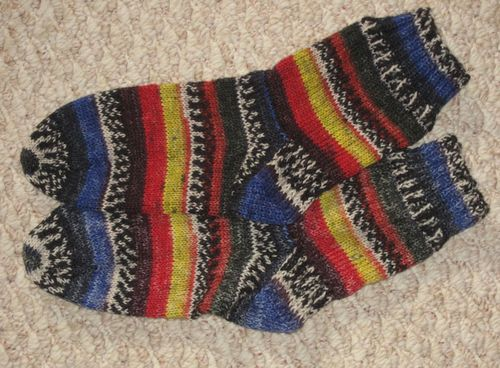 Fortissima.socks.completed